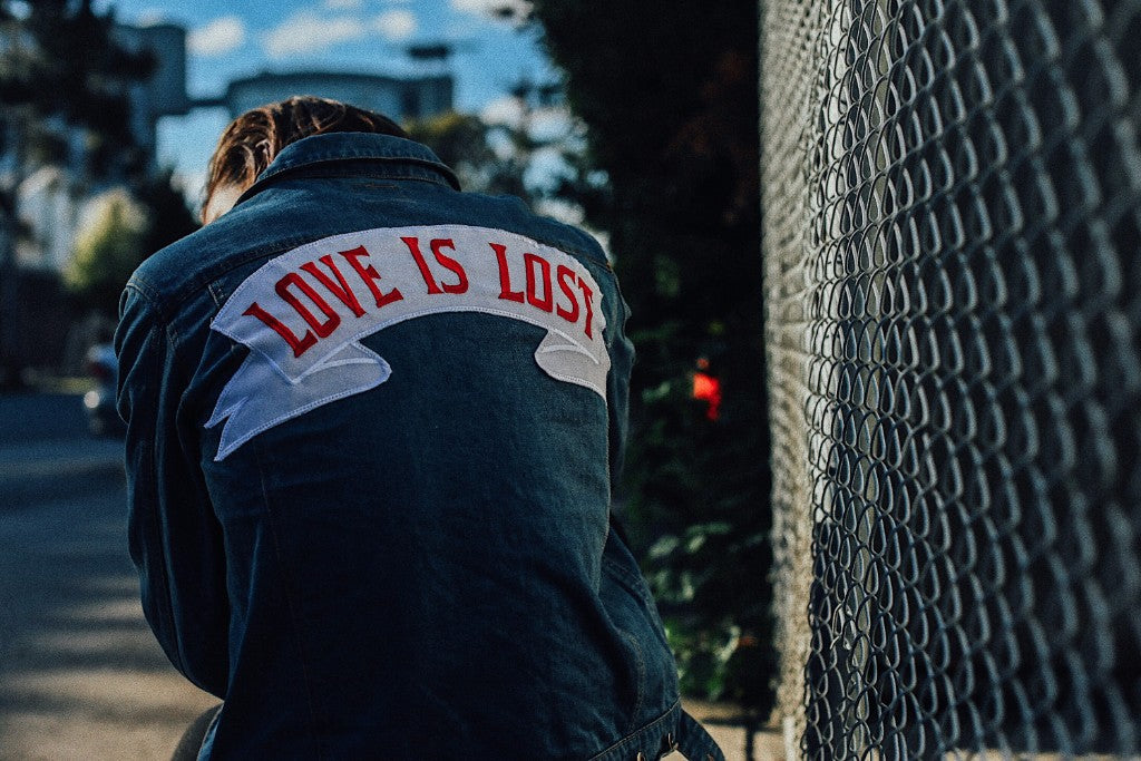 Love Is Lost Denim Jacket
