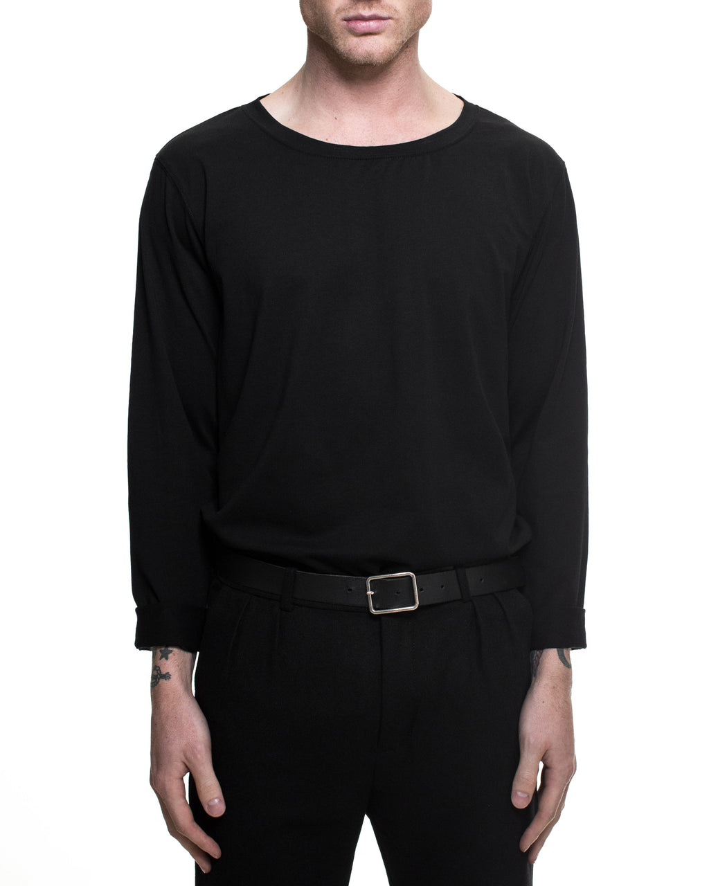 Hook Long Sleeve T-Shirt - Black