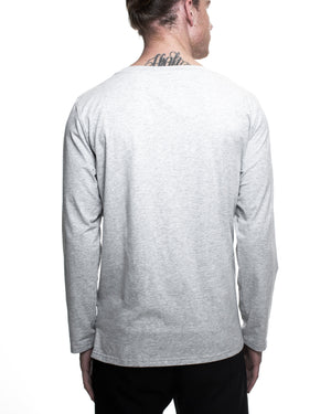 Hook Long Sleeve T-Shirt - Light Grey