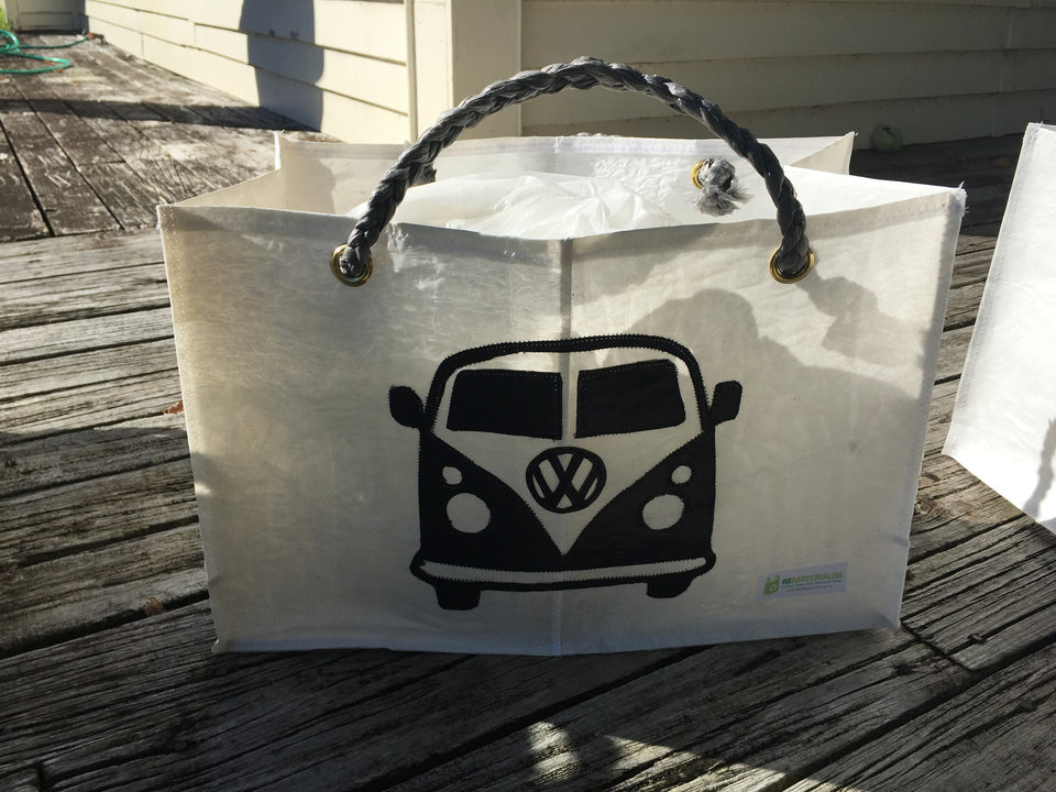 Reusable recycled shopping bag - VW