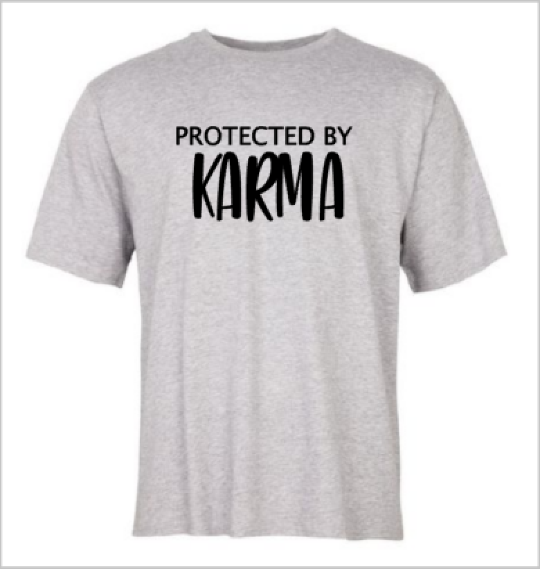 Protected by Karma T-shirt
