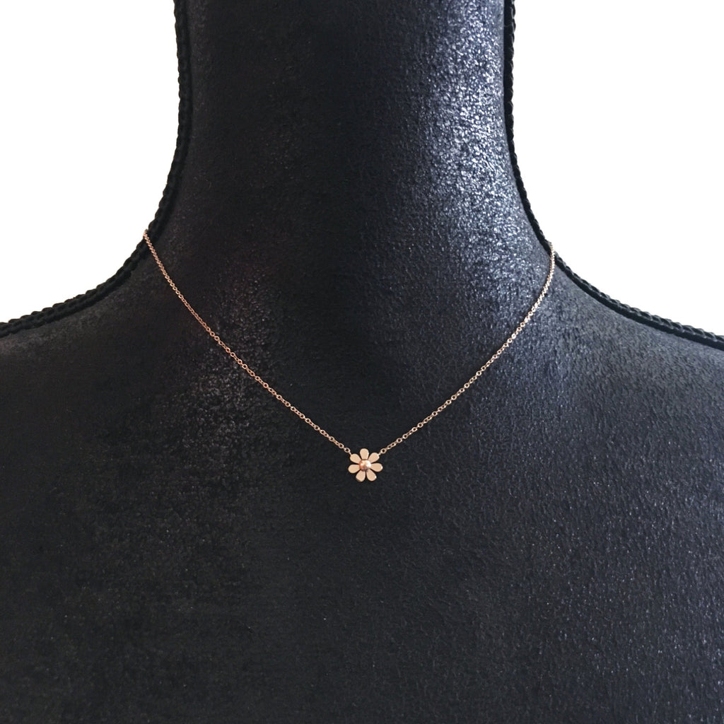 Single Daisy Necklace - Suradesires - 1
