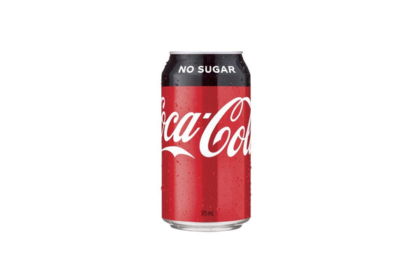 111 No sugar Coke 375ml.