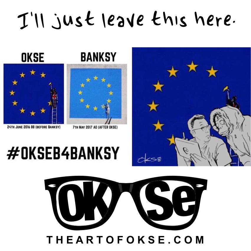 Banksy - I'll Just Leave This Here .