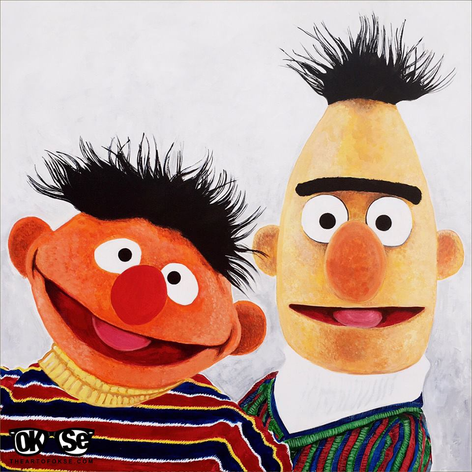 Bert And Ernie Limited Edition