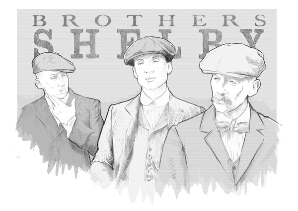 The Brothers Shelby : Peaky Blinders By Okse