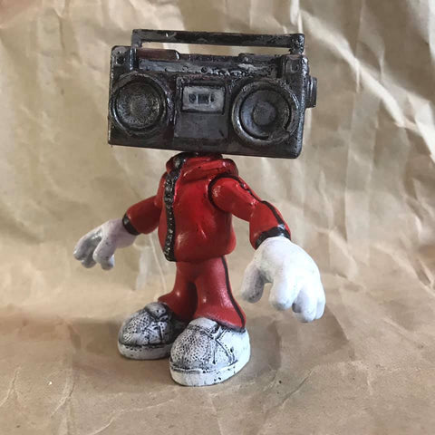 BOOMBOX BOY Limited Edition Art Toy 1 of 120