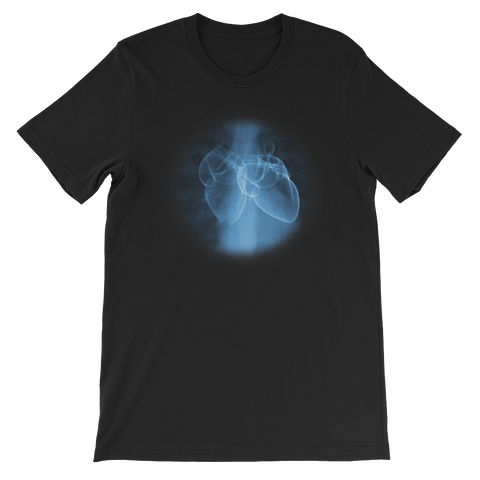 Black Two Hearts T Shirt