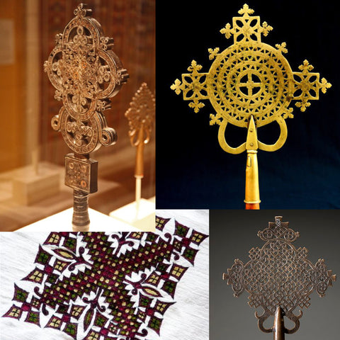 Dashiki Inspiration - Ethiopian Coptic Crosses