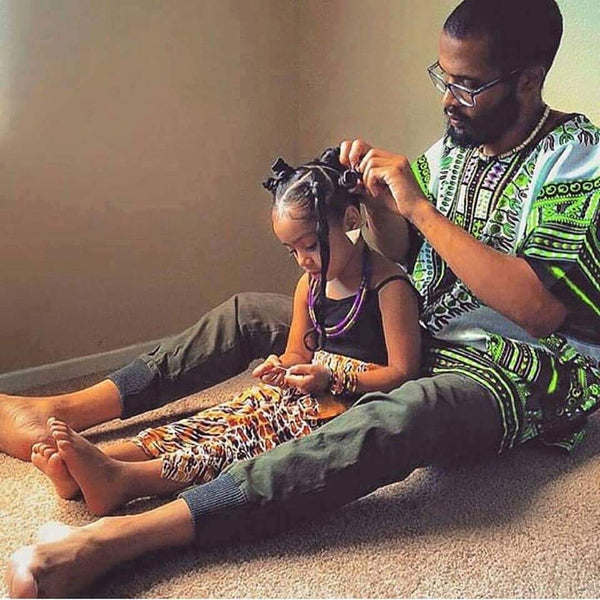 Father and Daughter Dashiki