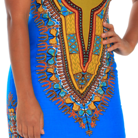 Short African Dashiki Dress