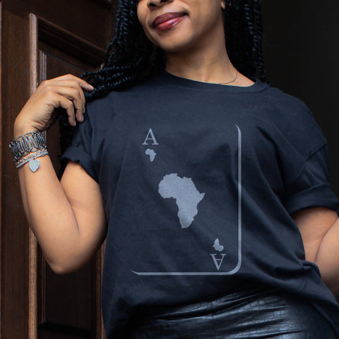 Ace of Africa Map T-shirt