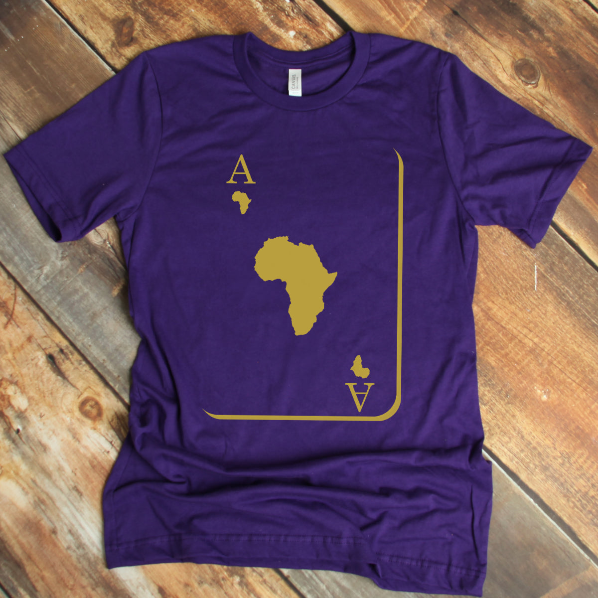 The Ace Omega Purple and Old Gold Tshirt