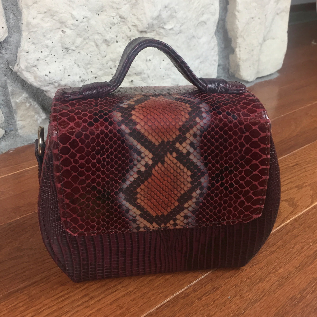 African Leather Bag