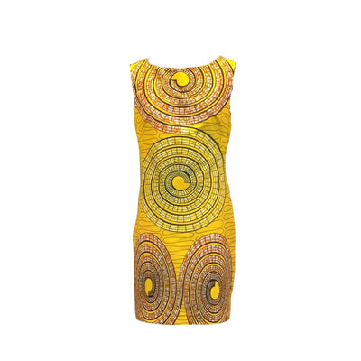 African Print Dress - Work and Play
