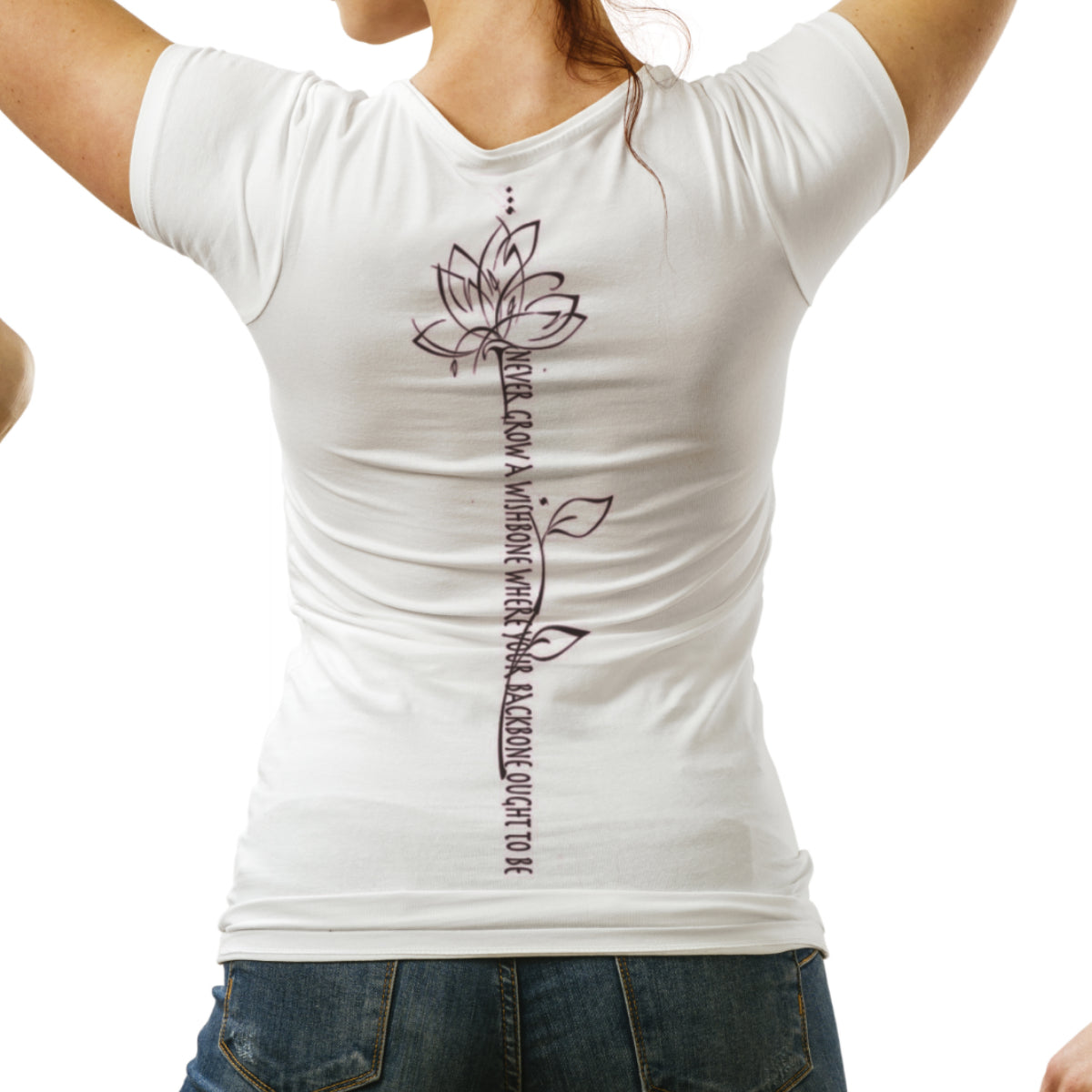 Backbone - V neck Women's cut t-shirt