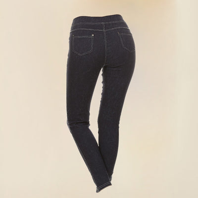 Bend Me Shape Me Skinny Blue Jean Leggings