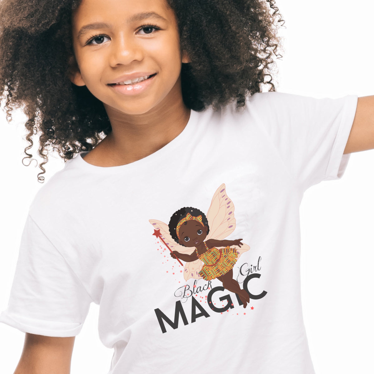 Black Girl Magic Tshirt - Ages 6 and Over