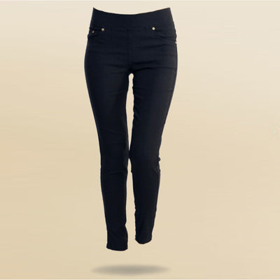 Shape Me Skinny Black Jean Leggins