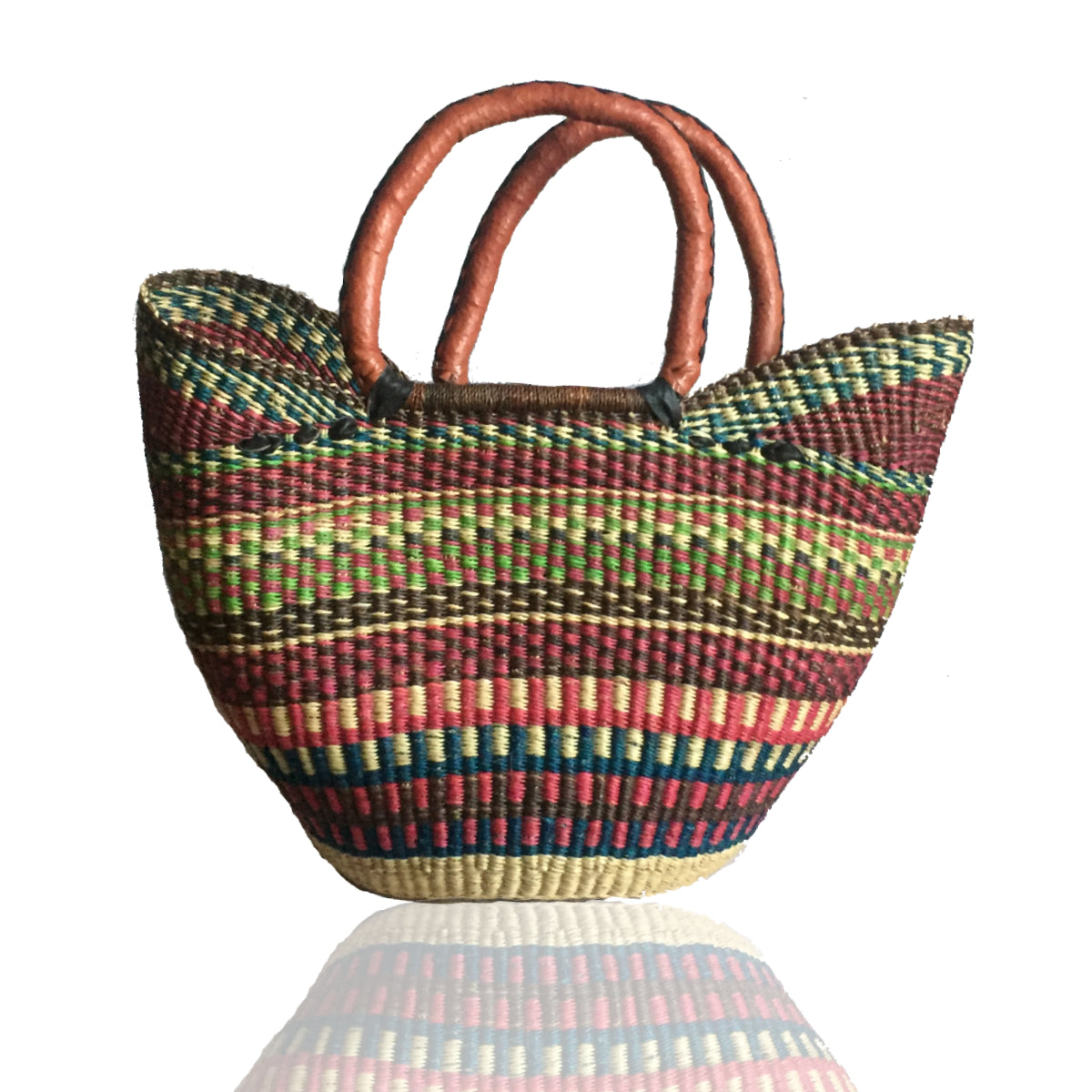 Medium Bolga Basket - Throw Basket