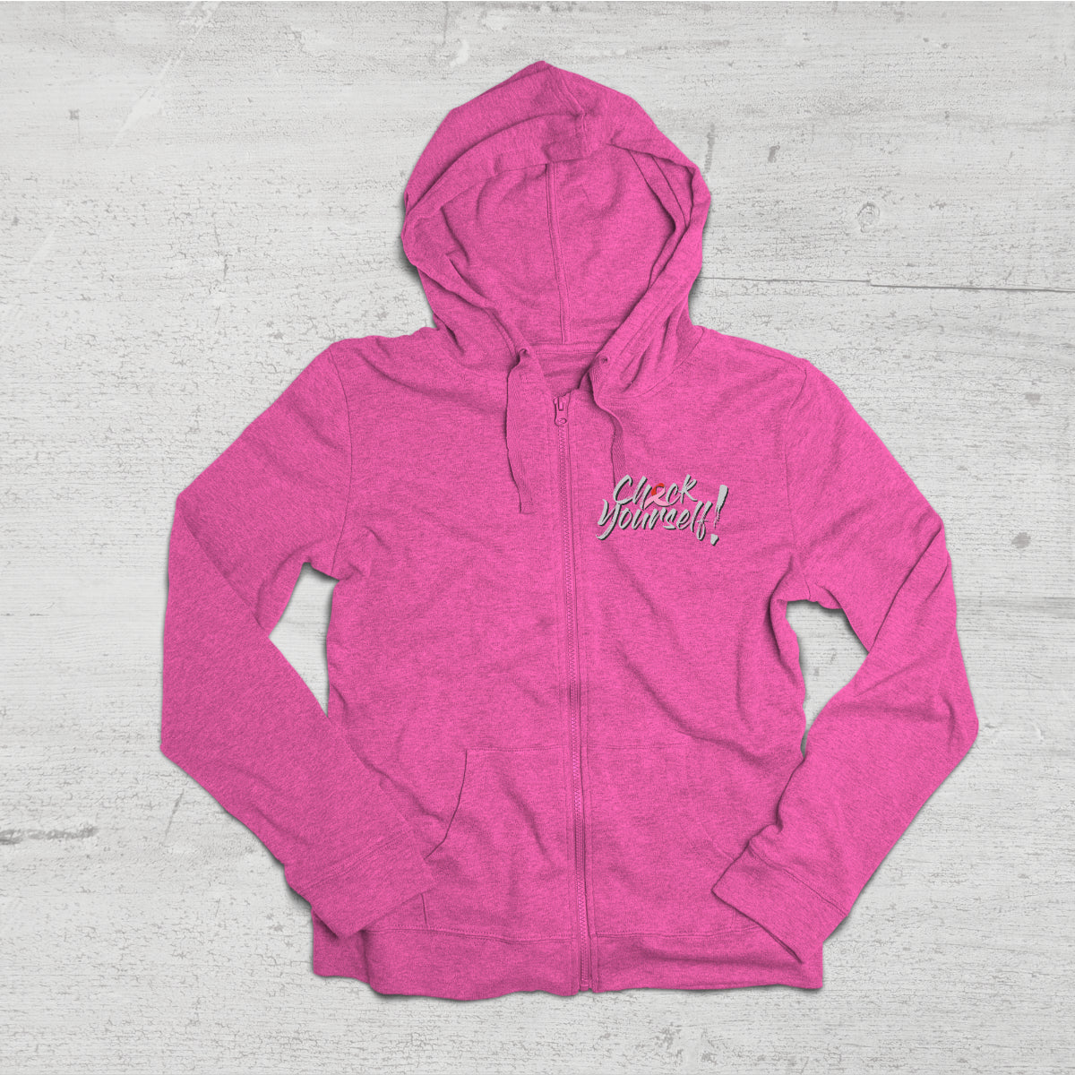 Check Yourself - Breast Cancer Awareness Hoodie Sweatshirt