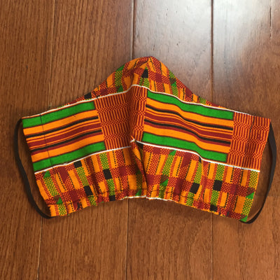 Kente Fashion Face Mask