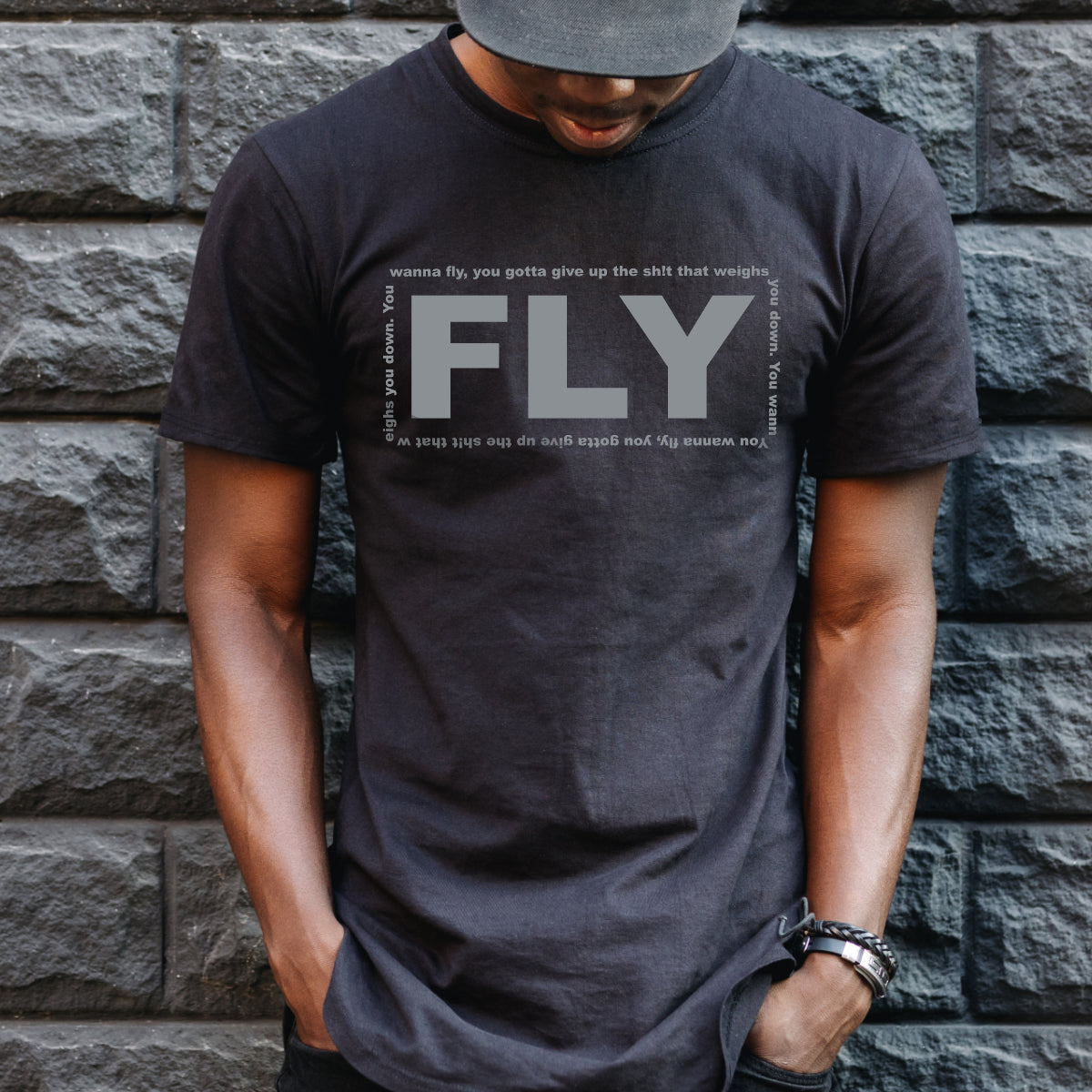 FLY - Inspirational Quote Tee