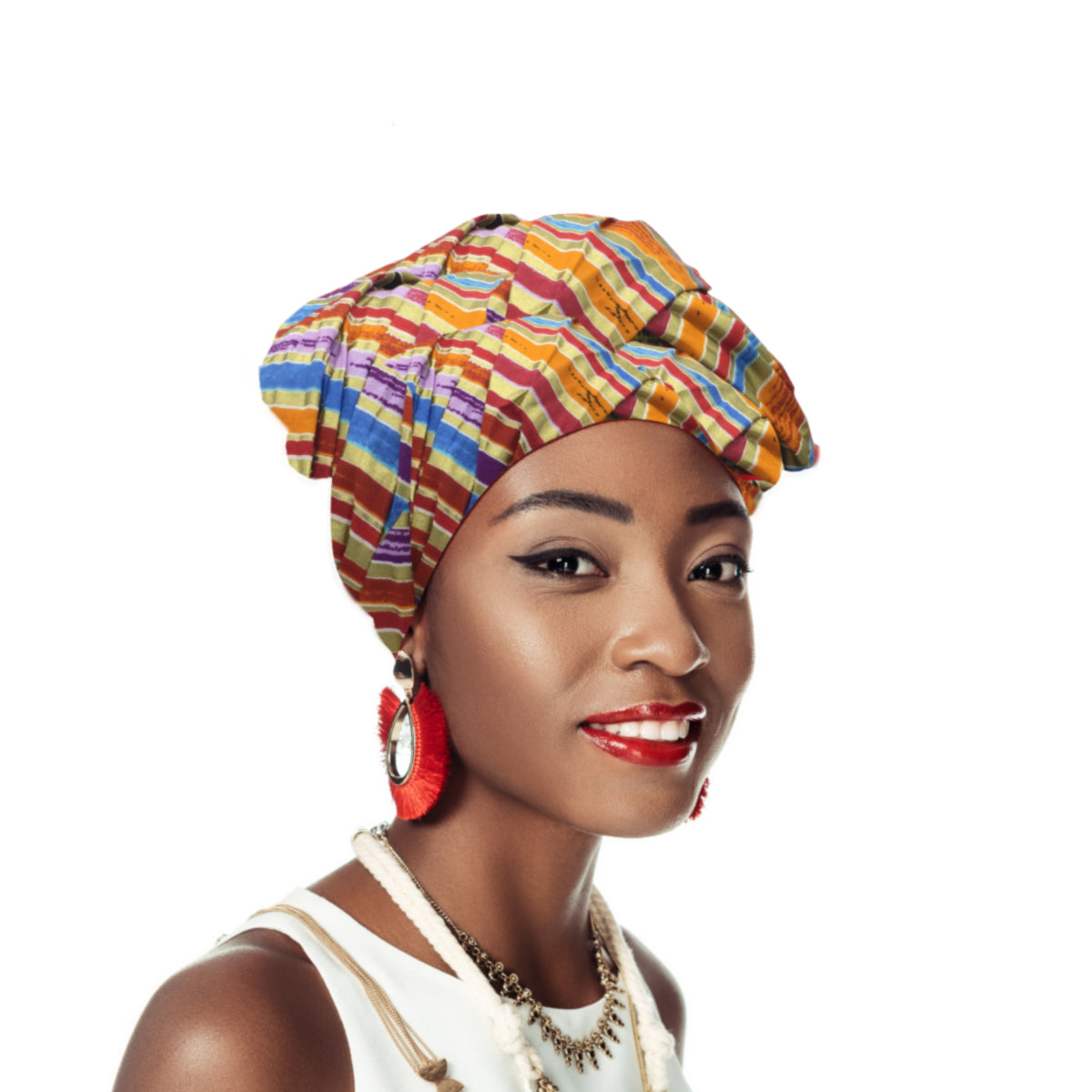 Gloriosa African  Headwrap