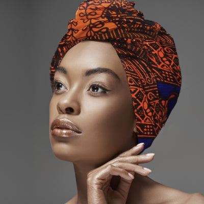Head wrap and Scarf - Relaxed