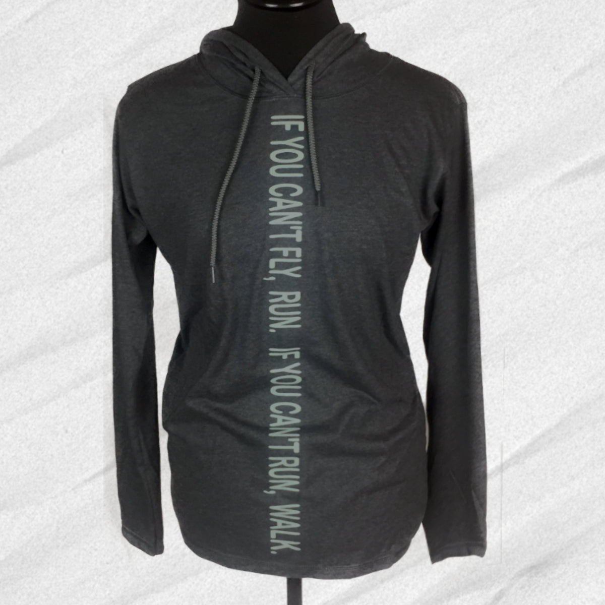 Keep Moving  - Motivational Quotes - Women's Hooded Long Sleeved T-shirt