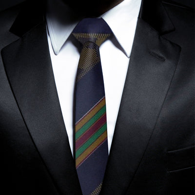 Best African Print Ties - Kente Design