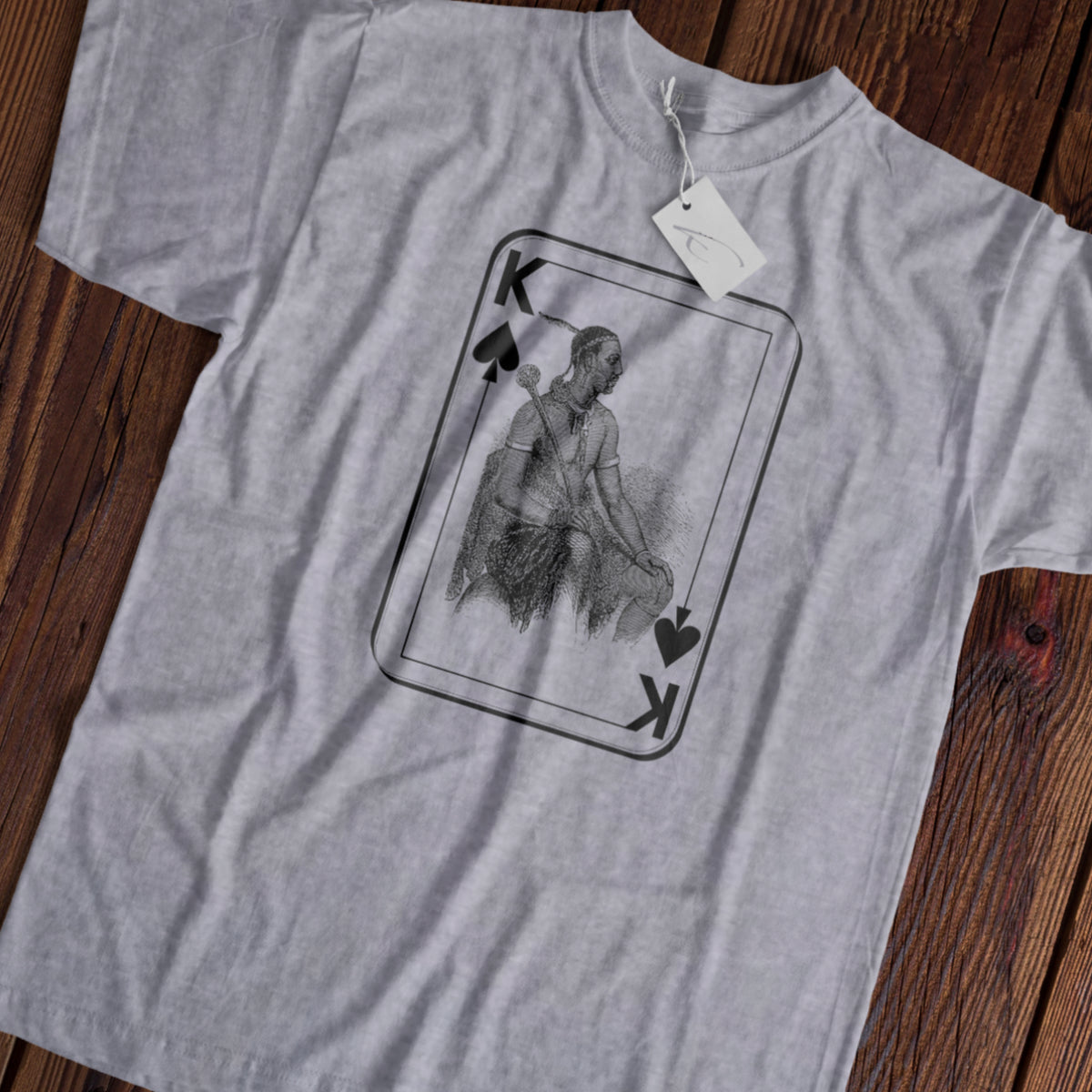 African King of Spades - Short-Sleeve Unisex T-Shirt