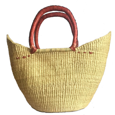 Medium Bolga Basket - Natural