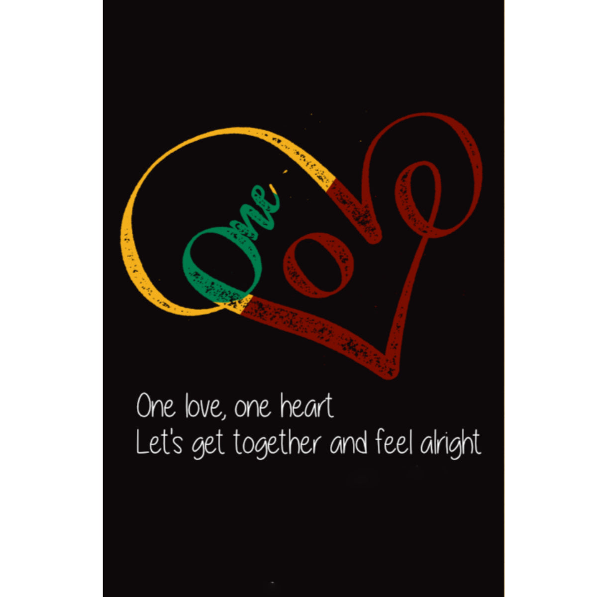 One Love, One Heart - Poster