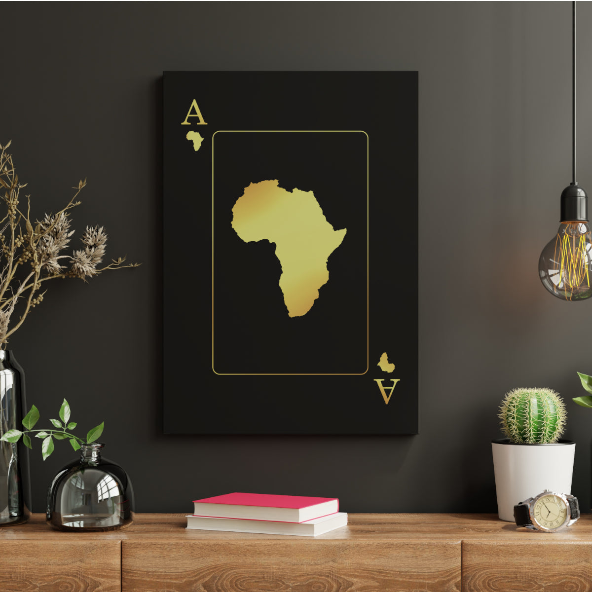 Ace of Africa Canvas