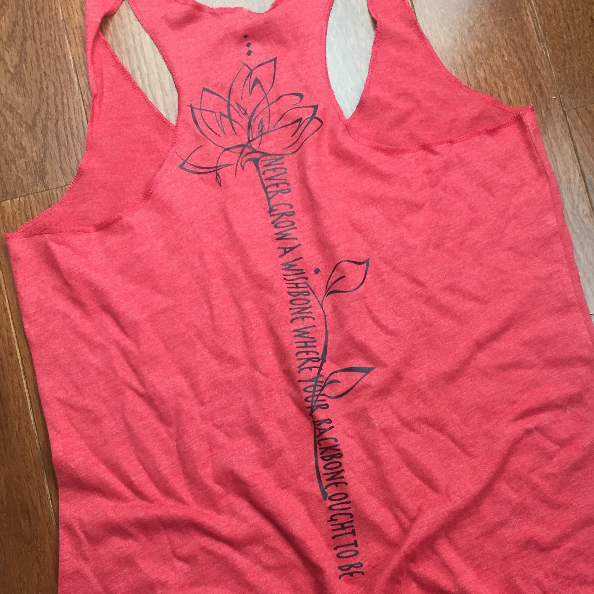 Backbone  - Super Soft Racer Back Tank Top