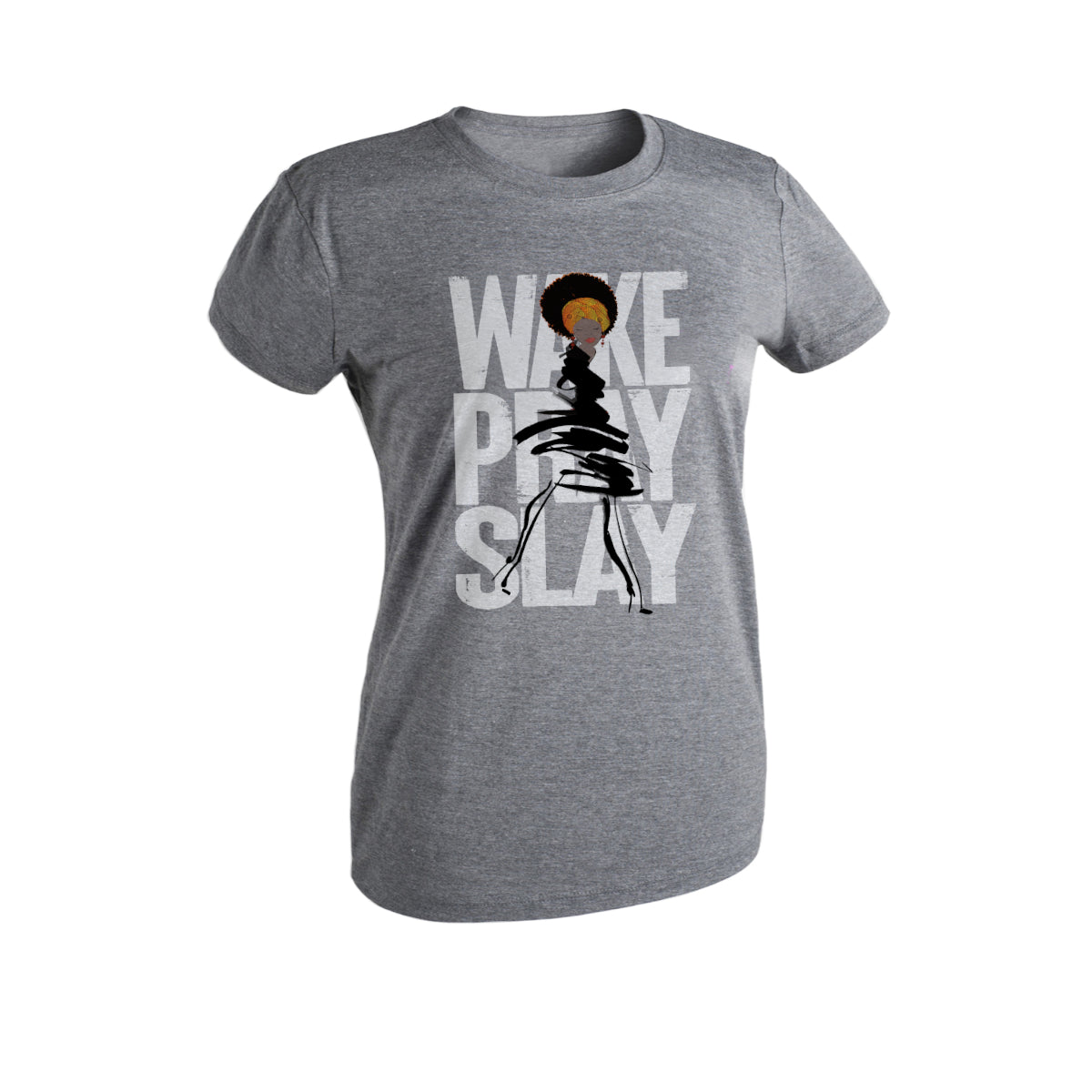 Wake Pray Slay - Women's Cut Tee