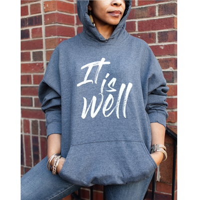 It is Well - Fleece Christian Sweatshirt