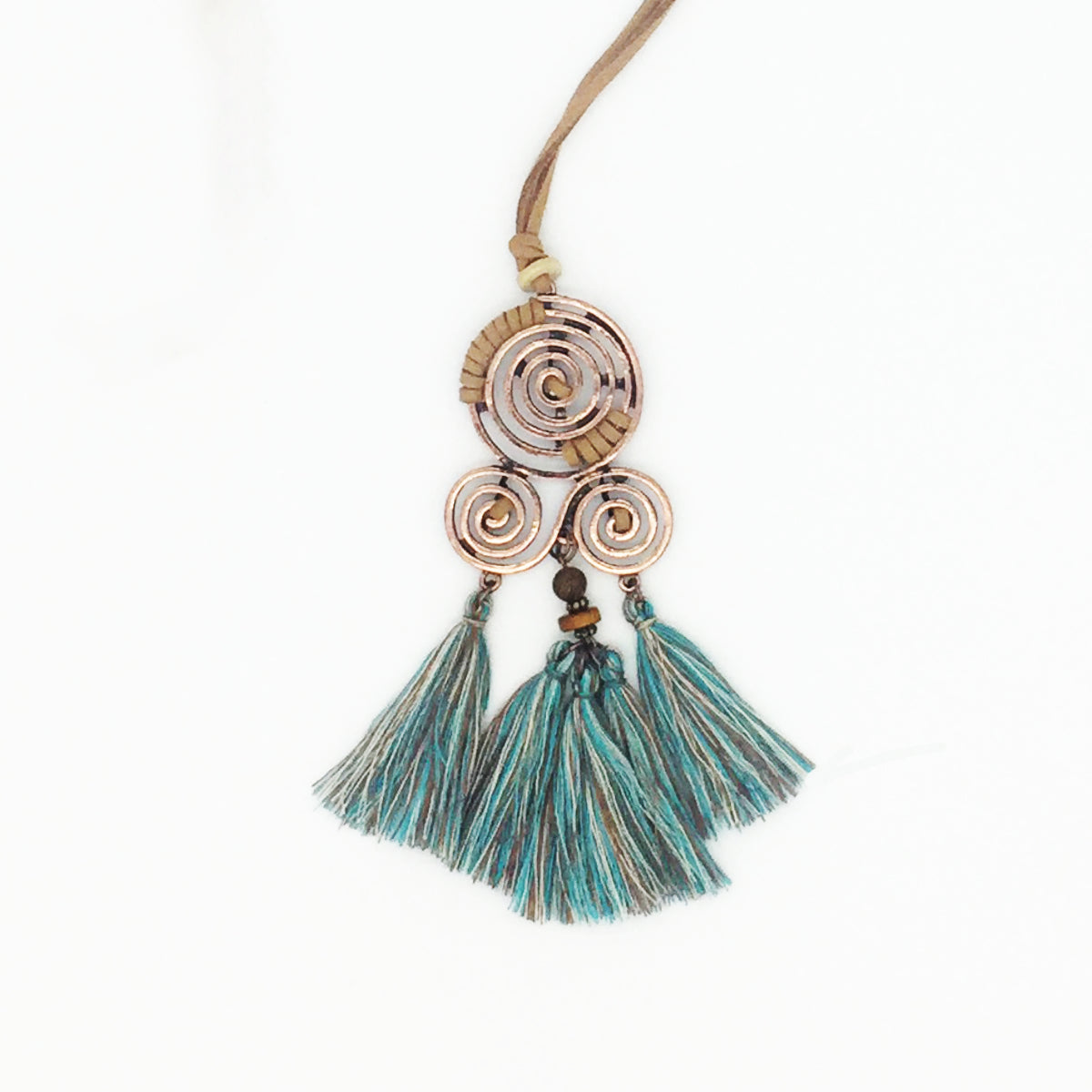 Boho Chic Tassel Necklace