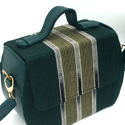 The African Fabric Box Bag