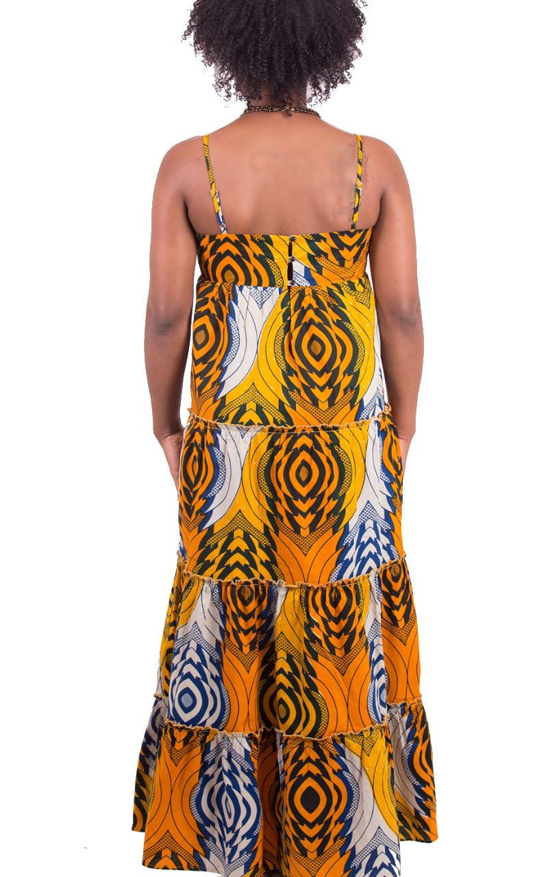 67fb6c50dca Kayarize - Yellow Belle Summer Maxi Dress