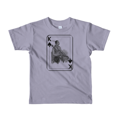 African King of Spades - Short sleeve kids t-shirt (Ages 2-6)