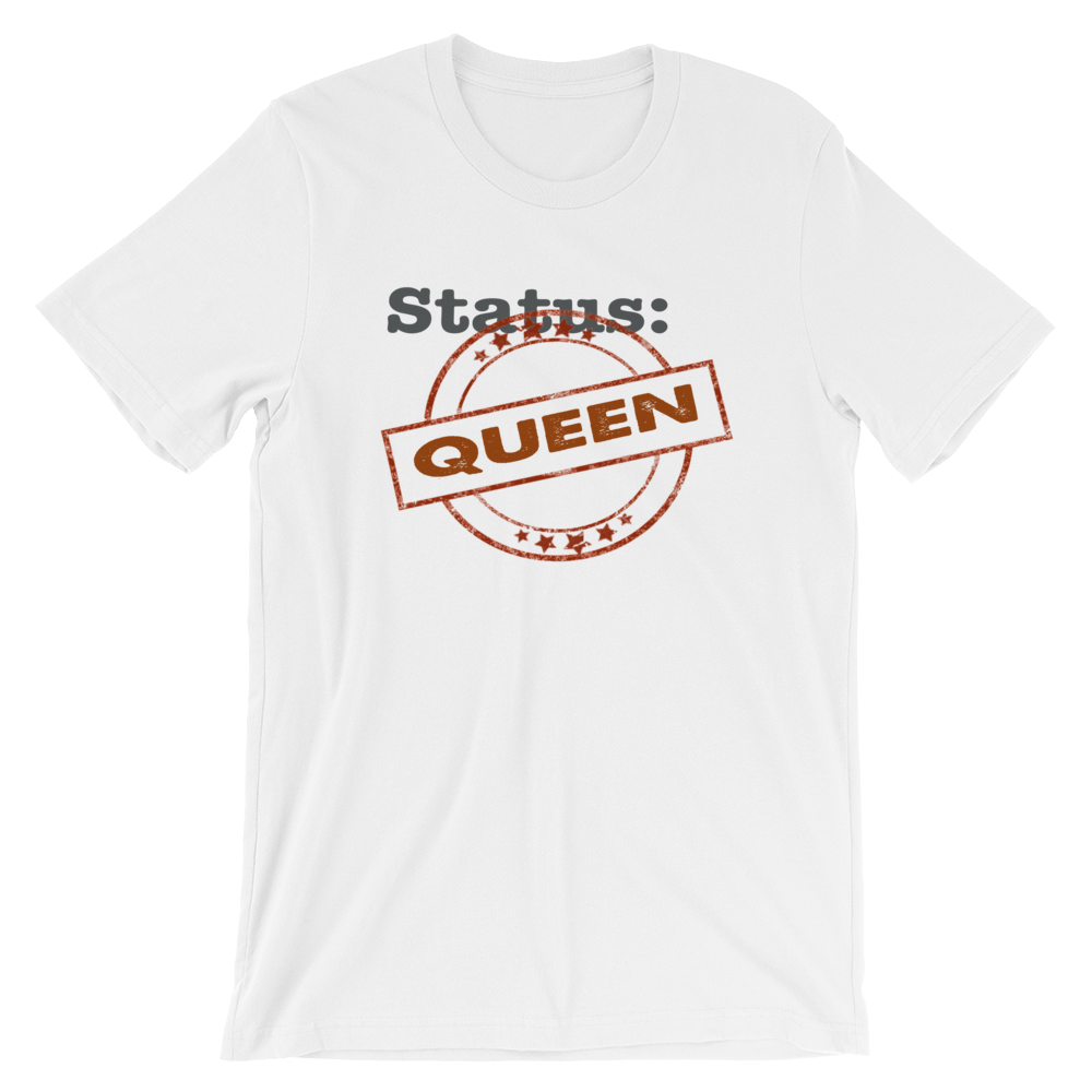 Status Queen - Short-Sleeve Relaxed Fit T-Shirt