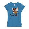 Black Girl Magic - Girl's T-Shirt. Ages 6 and over