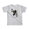 Queen of Spades - Short sleeve kids t-shirt - Ages 2-6