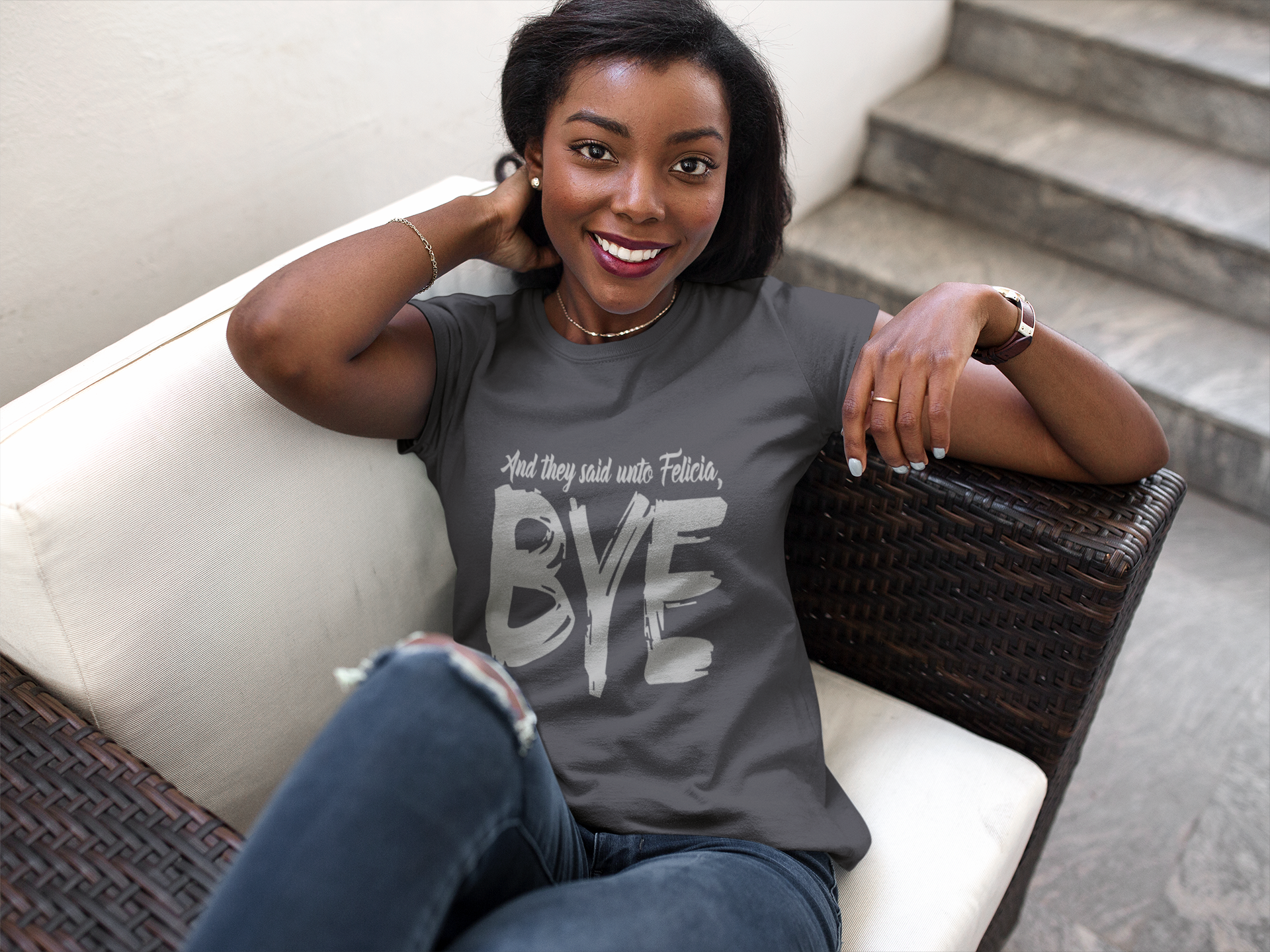 Bye Felicia - Women's Fitted Tee
