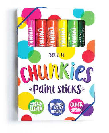 Ooly Chunky Paint Sticks Set 12