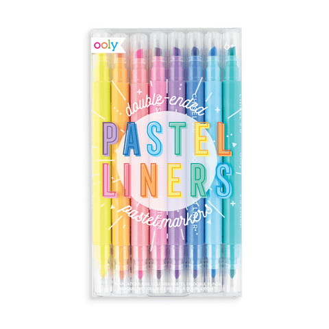 Pastel Double End Markers
