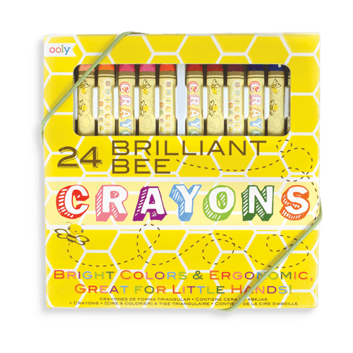 Brilliant Bee Crayons Set 24