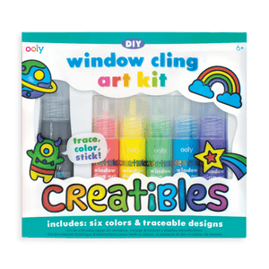 Creatibles Window Cling Art